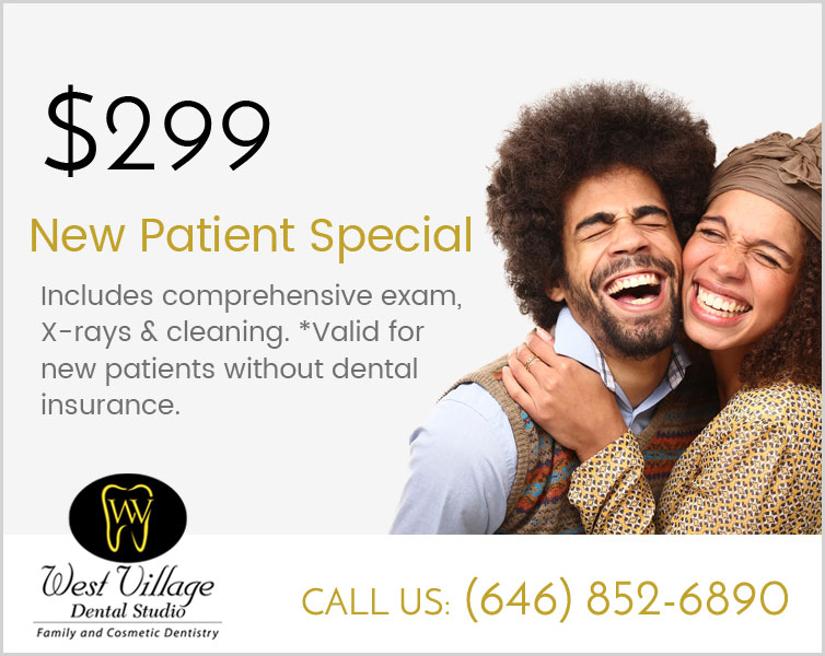 West Village NYC New Patient Special